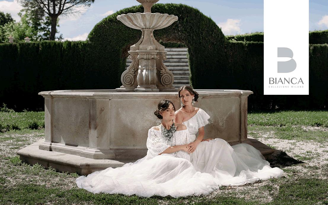 Presentazione Home Bianca Collezione Milano Abiti Da Sposa