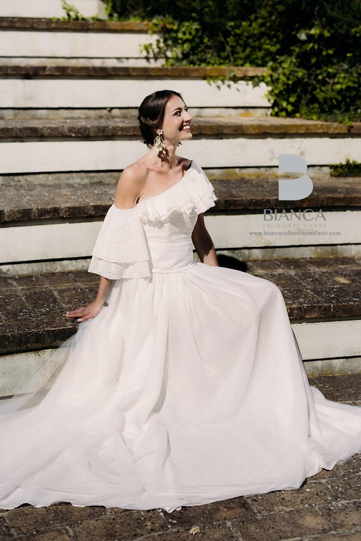 Abito Sposa Caterina Collezione Sposa Senza Tempo Bianca Collezione Milano