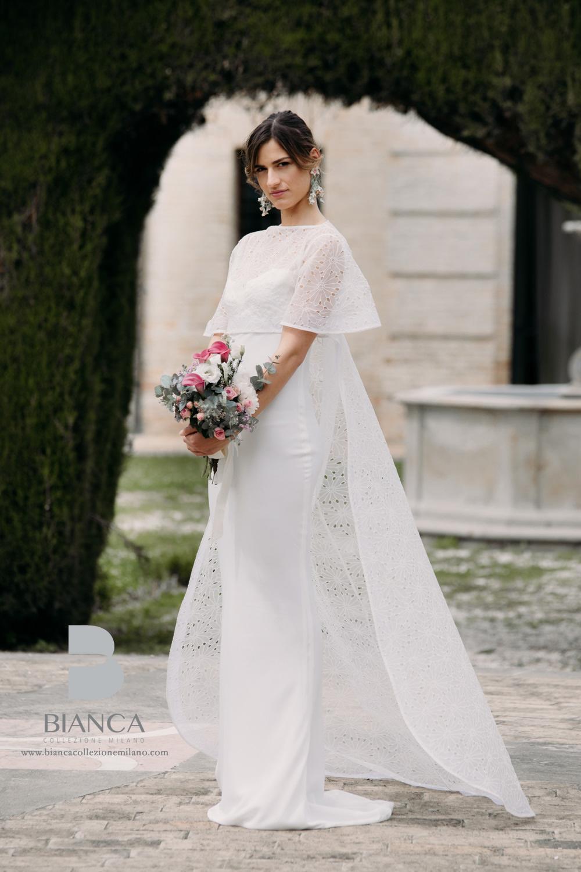 Abito Sposa Cecilia Collezione Sposa Senza Tempo Bianca Collezione Milano