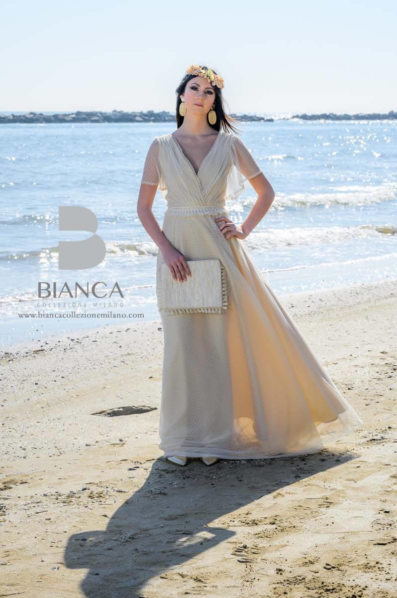 Abito Sposa Daria 2020 Collezione Sposa Romantica 2020 Bianca Collezione Milano
