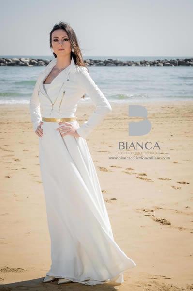 Collezione Sposa Romantica 2020 Abito Sposa Daniela 2020 Bianca Collezione Milano
