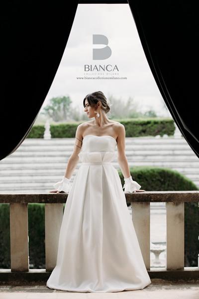 Collezione Sposa Senza Tempo Abito Sposa Camilla Bianca Collezione Milano